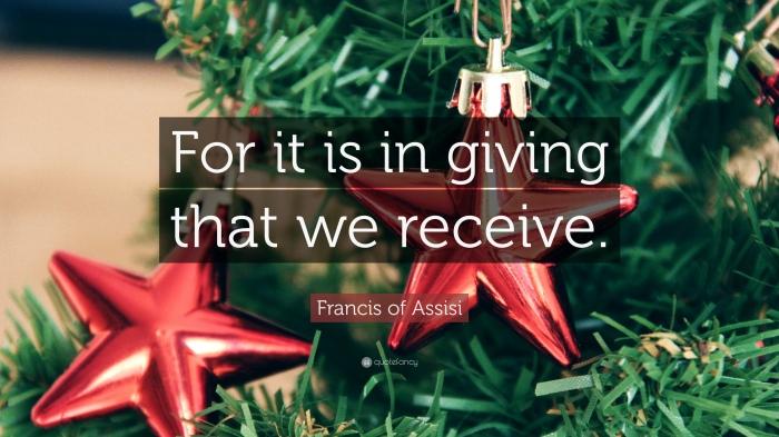 Giving: The SadReality