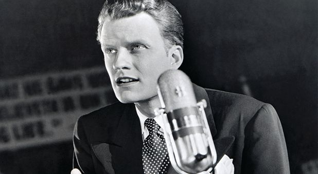 Billy Graham: Not in Heaven Because He Preached to the Crowds