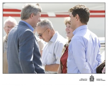 PM Harper at Deer Lake