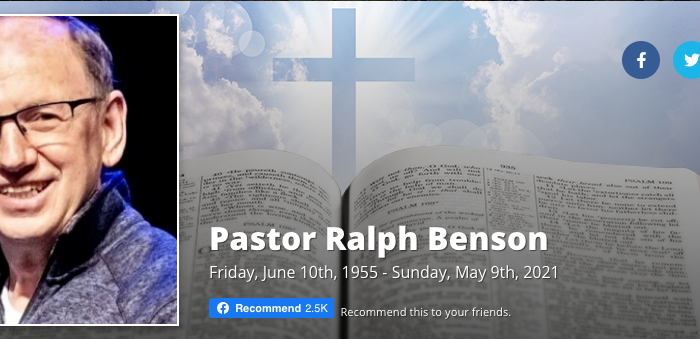 A Pastor's Legacy